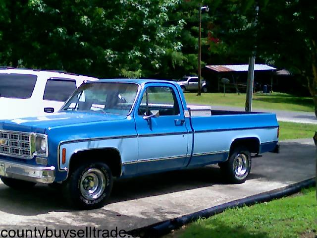 Trucks For Sale In Tn >> 1977 Chevy Truck Spring City - County Buy, Sell, Trade